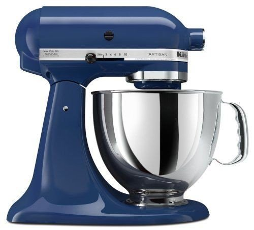 Price comparison product image Stkertools(TM) KitchenAid KSM150PSBW Artisan 5-Quart Stand Mixer, Blue Willow