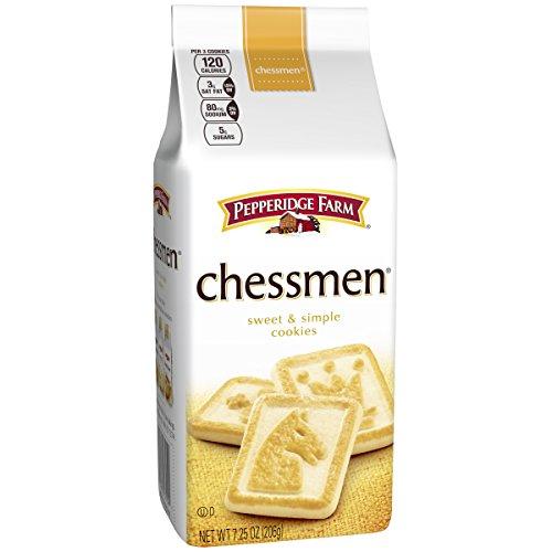 (Pepperidge Farm, Chessmen, Cookies, 7.25 oz., Bag)