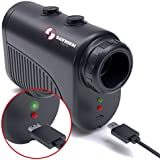Saybien Rechargeable Golf Rangefinder Slope - 1200m USB Charging Golf Range Finder - Laser range finder - Tournament Legal - accurate up to 1,200 meters 1,300 yards - Scan mode - Flag Lock