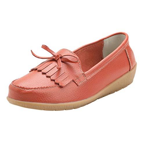 Kauneus Women's Comfy Plus Walking Flat Loafer