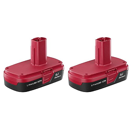 Craftsman C3 19.2-volt Compact Lithium-ion Two Battery Packs