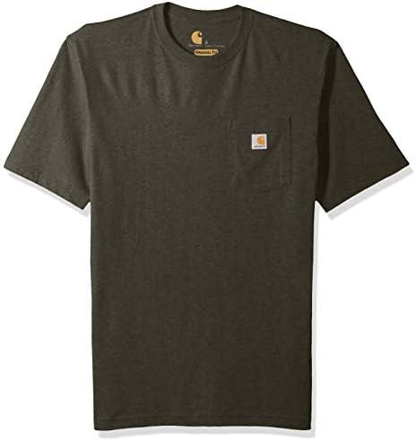 Carhartt Mens K87 Workwear Short Sleeve T-Shirt Regular and Big /& Tall Sizes