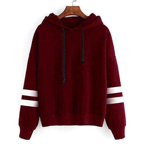 XUANOU Womens Sleeve Sweatshirt Pullover product image