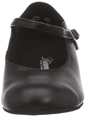 Salon 034 Diamant Danse Damen 050 de de Tanzschuhe Noir Femme Noir Chaussures 029 wHa6w