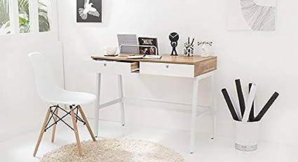 Urban Ladder Terry Study Table  Finish : Golden Oak  Desks