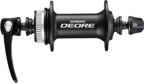 Shimano HB-M615 Deore Disc Front Hub with 32H Center Lock Disc QR, Black