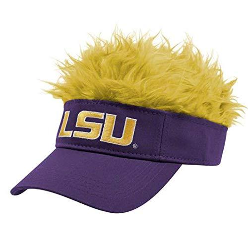 NCAA LSU Tigers Flair Hair Visor, Purple - Hair Hat Visor