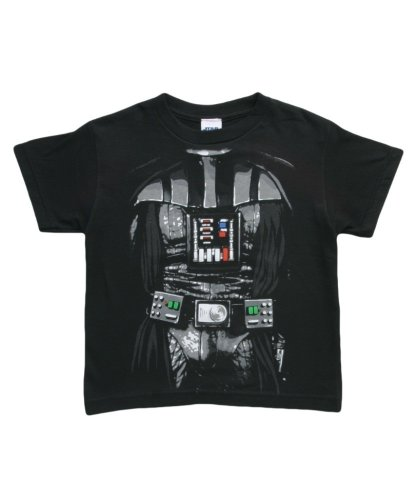Big Boys' Star Wars Darth Dark Costume T-Shirt Juvy Small