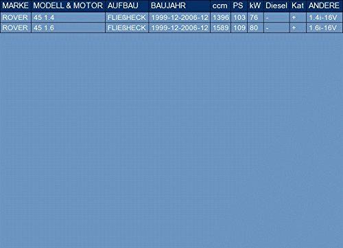 pour 45 1.4 1.6 BERLINE 3//5 PORTES 103//109hp 1999-2006 le kit dassemblage complet ETS-EXHAUST 52654 Silencieux arriere