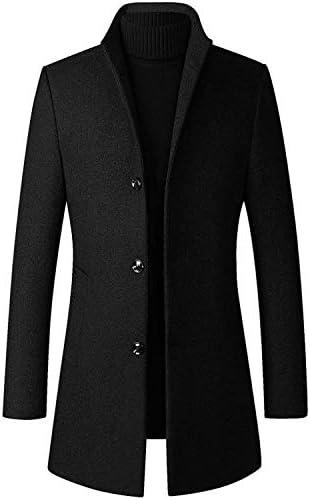 チェスターコート ロング コート メンズ メルトン ウール ジャケット ビジネス スリムコート カシミヤ 秋冬 防寒 大きいサイズ 無地 紳士服