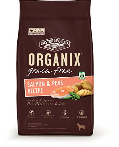 Organix Grain Free Salmon & Peas Recipe, 22 lb by Organix