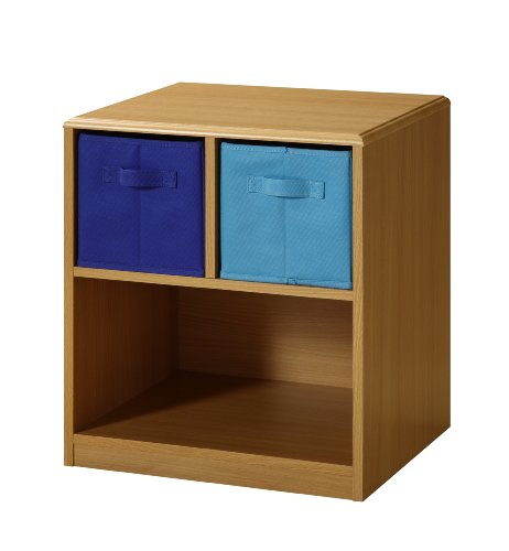 Juvenile Kids Table - 4D Concepts Boys 2 Drawer Nightstand - Beech