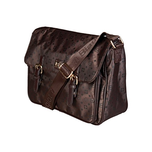 Genuine RRP Women Crossbody Designer £119 Cross Bag Laura Biagiotti Body Bag 00 Brown pwngvqYw5