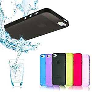 """JOE Ultra Thin Transparent Crystal Clear Case for iPhone 5/5S (Assorted Colors) , Yellow"""