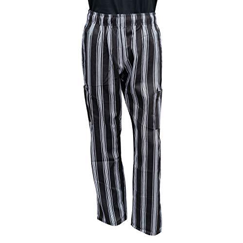 Chef Code Chef Pants, Black/White, 2X-Large