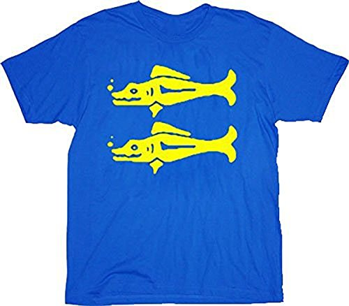 Legends of the Hidden Temple Blue Barracudas Adult Costume T-shirt ()