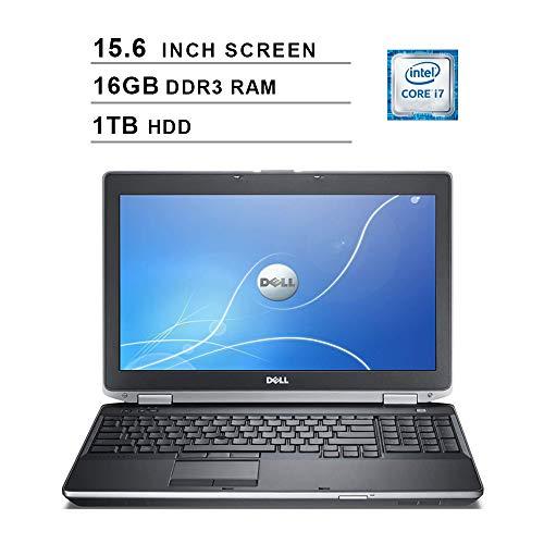 2019 Premium Dell Latitude E6530 15.6 Inch Business Laptop (Intel Dual Core i7-3520M up to 3.6GHz, 16GB DDR3 RAM, 1TB HDD, Intel HD 4000, DVD, WiFi, Bluetooth, HDMI, Windows 10 Pro) (Renewed)