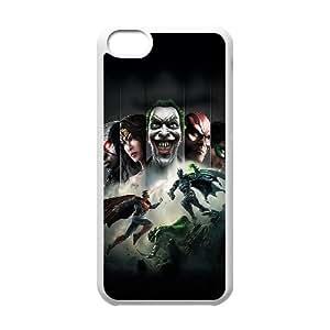 iPhone 5c Cell Phone Case White Injustice Gods Among Us VIU947294