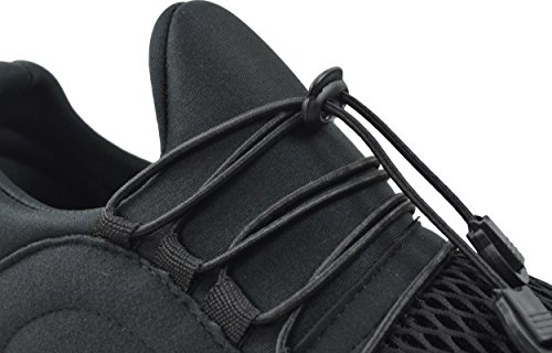 CAPRIUM Laufschuhe Profilsohle Sportschuhe Schnüren Sneakers Freizeitschuhe, Herren 0001035 Weiß 02018