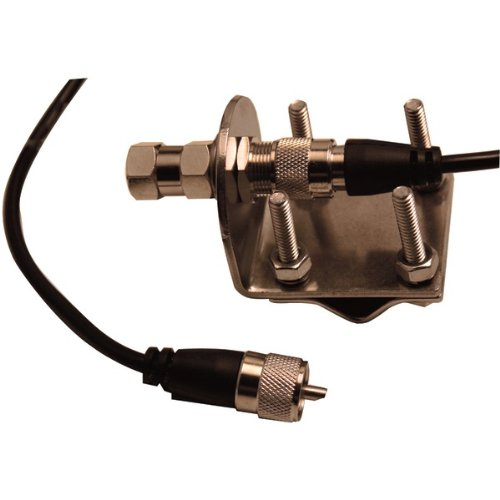 AWM Browning Br-Mm-18 Mirror-Mount Kit With Cb Antenna Coaxial Cable - Cb Radio Accessories
