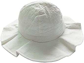 Summer Baby Girls Sun Hat Cotton Bucket Caps Child Sun Cap Boys Brim Beach Hats