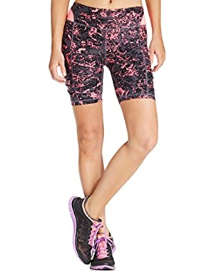 Calvin Klein Womens Printed Bike Shorts