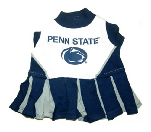 Dog Apparel Penn State Nittany Lions Sports Pet CheerLeading Dress Uinform outfit SM