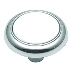 Hickory Hardware P710-CH 1-1/4-Inch Eclipse Knob, Chrome