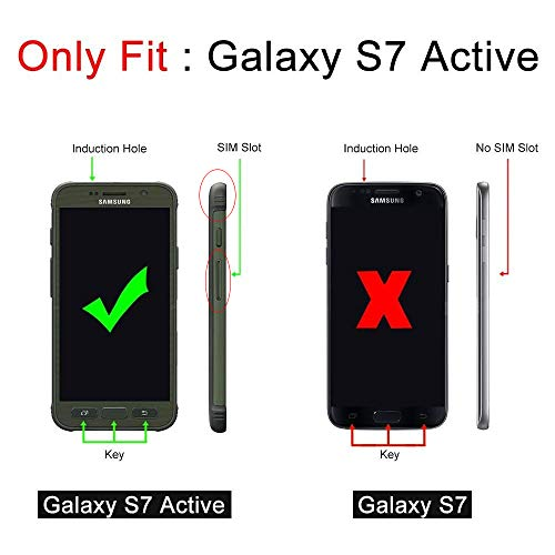 Galaxy S7 Active Case, SUPCASE Full-Body Rugged Holster Case with Built-in Screen Protector for Sams - http://coolthings.us