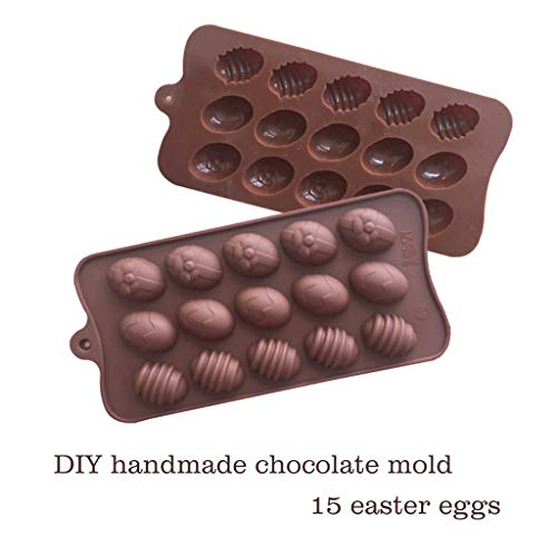 Clothful  Easter Silicone Eggs Chocolate Cake Soap Mold Baking Ice Tray - Stone Cookware Living Marble