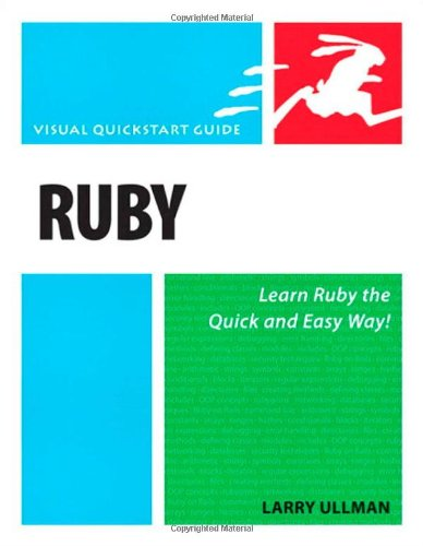 Ruby: Visual QuickStart Guide by Peachpit Press