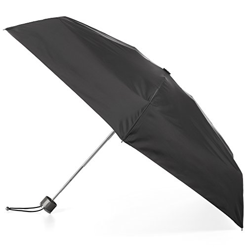 totes Titan Umbrella NeverWet Black