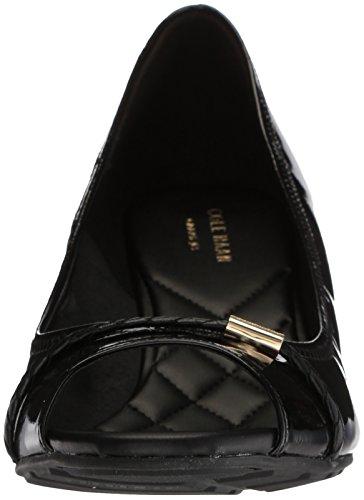 Emory 40MM Haan Pump Women's Wedge Cole Braid Patent Black EqaXv