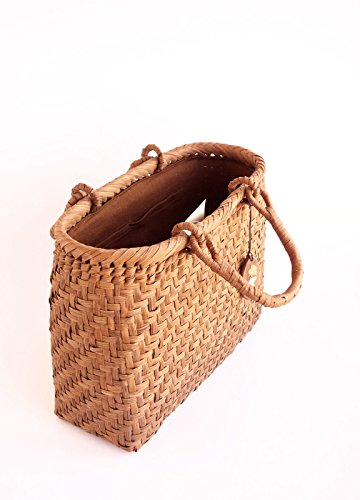 Yamako Mountain Grape Basket Handbag with Inner Cloth 88046 by Yamako (Image #7)