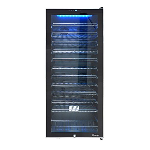 Vinotemp 99-Bottle Touch Screen Freestanding Wine Cooler