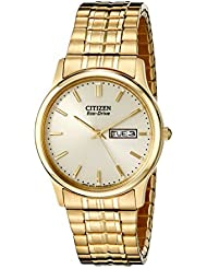 Citizen Mens Eco-Drive Expansion Band Watch with Day/Date, BM8452-99P