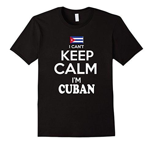 Men's Cuba Keem Calm tshirt Cuban Pulover Camiseta Cubana Medium Black