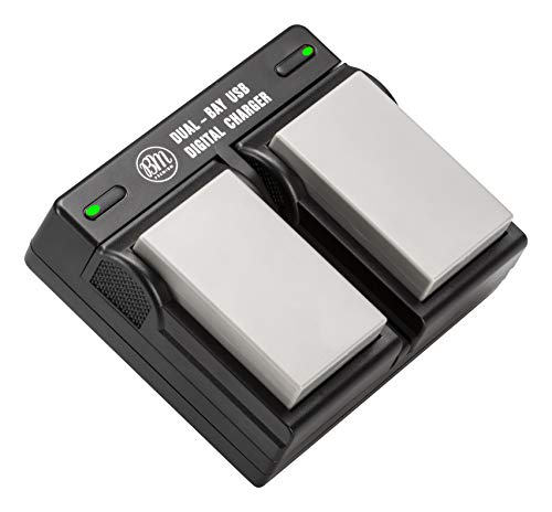 BM Premium 2-Pack of EN-EL5 Batteries and USB Dual Battery Charger for Nikon Coolpix P80, P90, P100, P500, P510, P520, P530 Digital Camera (P500 Coolpix Charger Nikon)