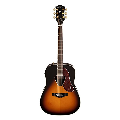 Vintage Dreadnought Acoustic Guitar - Gretsch G5024E Rancher Dreadnought - Sunburst