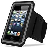 iPhone5対応 スポーツ アームバンド (ブラック)