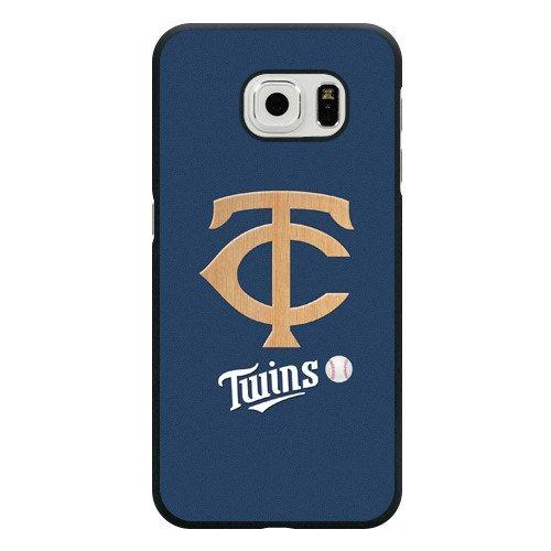 Galaxy S6 Edge Case, Onelee(TM) MLB Minnesota Twins Samsung Galaxy S6 Edge Case [Black Hard Plastic]