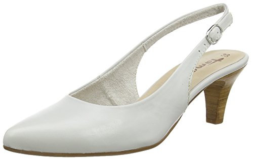 Tamaris 29608, Damen Slingback Pumps, Grau (LIGHT GREY 204), 40 EU