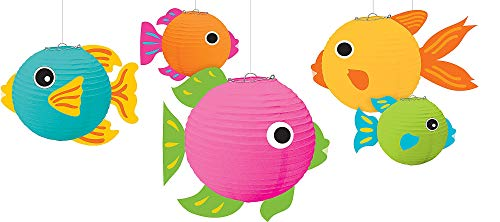 Amscan Fish Party Lantern Kit