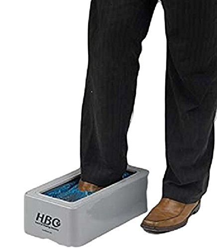 Neue automatische Überschuhe walk-through Schuh Schutz Dosiersystem & Refill