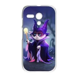 Motorola G Cell Phone Case White grumpy cat Ycyuv