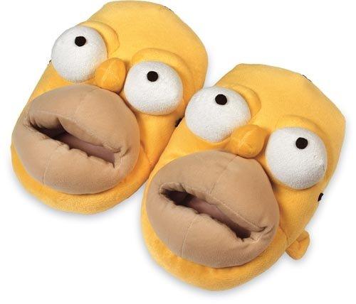 United Diseño Labels Adulto Casa Zapatillas Los Con Simpson Unisex 0803868 Homer De SSqrw8d