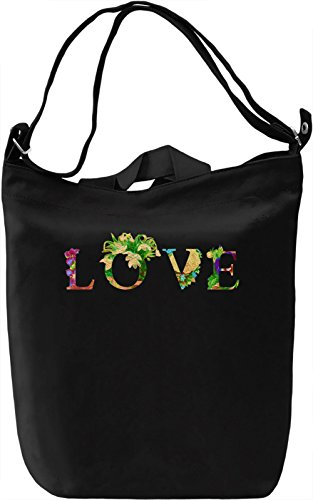 Vintage Love Borsa Giornaliera Canvas Canvas Day Bag| 100% Premium Cotton Canvas| DTG Printing|
