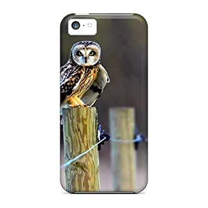 Flexible Tpu Back Case Cover For Iphone 5c - Cute Little Owl