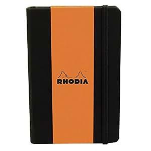 Rhodia Black A5 Webnotebook Journal - Dot Grid