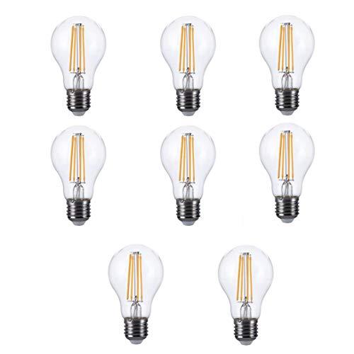 MatureGirl Edison Light Bulb, Antique Vintage Style Light, LED Lamp E26 120V LED Bulb LED Bulb Actual Power 6.5W Warm Lamp for Kitchens, Dining Rooms, Bars and Restaurants ()